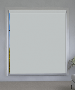 Cornerstone White Blockout Roller Blind