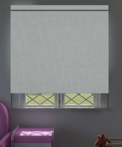 Cornerstone Winter White Blockout Roller Blind
