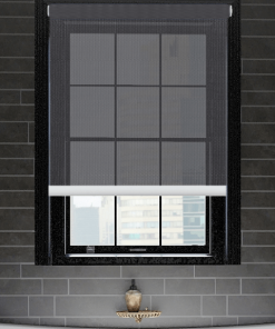 Cornerstone Basalt Sunscreen Roller Blind
