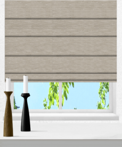 Sand Blockout Roman Blind