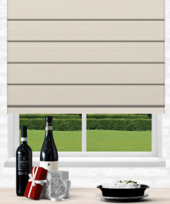 Shell Blockout Roman Blind