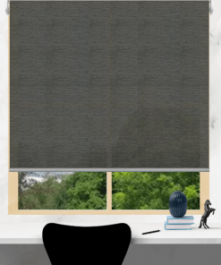 Pewter Light Filtering Roller Blind