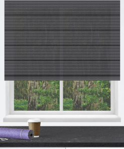 Basalt Sunscreen Roman Blind