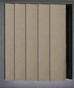 Brulee Metallic Blockout Panel Glide