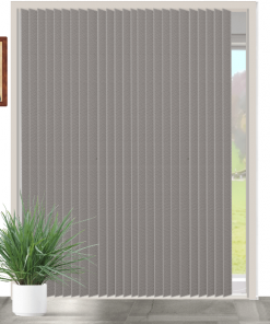Clay Blockout Vertical Blind