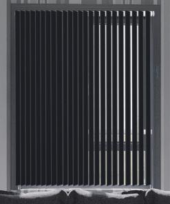 Coal Blockout Vertical Blind