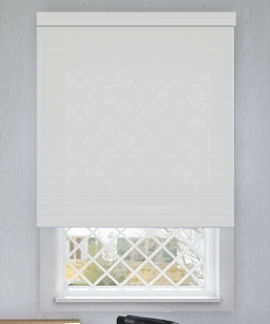 Cornerstone Snow Sunscreen Roller Blind
