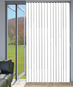 Ice Blockout Vertical Blind