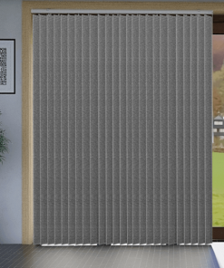 Lava Metallic Blockout Vertical Blind