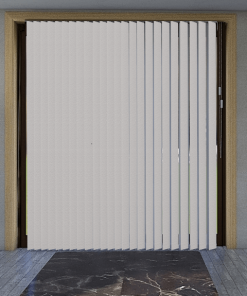 Limestone Blockout Vertical Blind