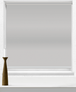 Mercury Metallic Blockout Roller Blind